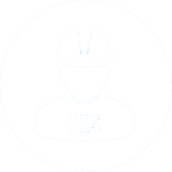 Icon of man in hard hat for health and safety video step 1
