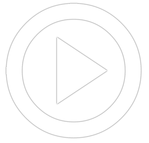 Circle with triangle play button icon for step 2 of video production process