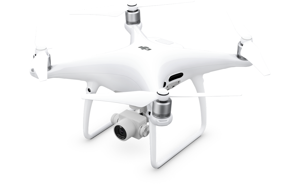 DJI Phantom 4 Pro used for drone aerial filming