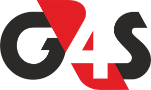 G4S Logo in red and black for corporate video page